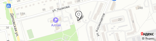 КАРЕ style на карте Новоалтайска
