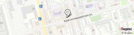 9 Карат на карте Новоалтайска