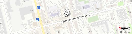 Сеть парикмахерских эконом-класса на карте Новоалтайска