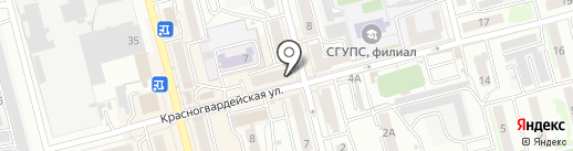 Алина на карте Новоалтайска