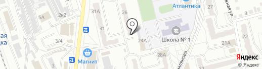 Добрый на карте Новоалтайска