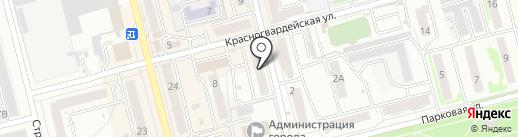 НОВЭКС на карте Новоалтайска