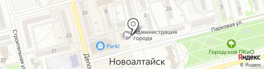Банкомат, Сбербанк России на карте Новоалтайска