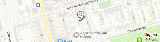 Алтайский бройлер на карте Новоалтайска