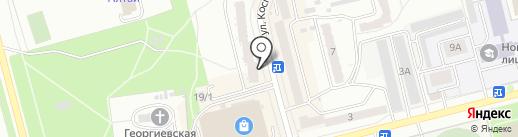 Магазин запчастей для корейских автомобилей на карте Новоалтайска