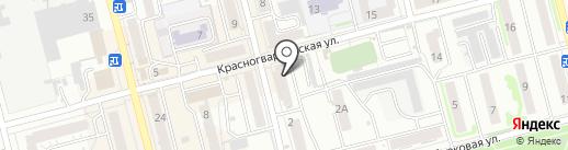 Сеть платежных терминалов, Сбербанк России на карте Новоалтайска