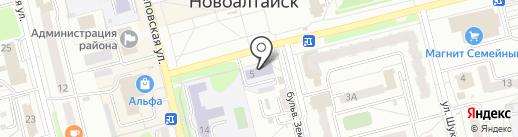 Детская школа искусств №2 на карте Новоалтайска