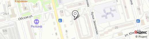 Old Mobile на карте Новоалтайска