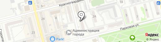 Магазин кондитерских изделий на карте Новоалтайска