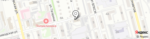 Байт-сервис на карте Новоалтайска