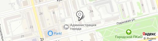 Мастерская по ремонту часов на карте Новоалтайска