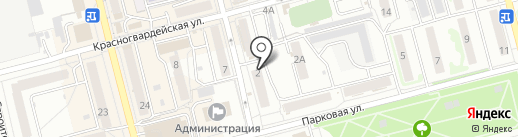 Полторашка на карте Новоалтайска
