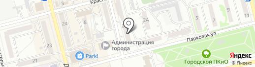МегаФон на карте Новоалтайска