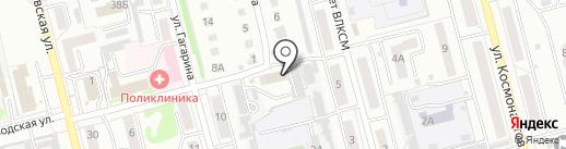 Маяк Плюс на карте Новоалтайска