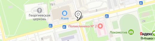 Donut`s на карте Новоалтайска
