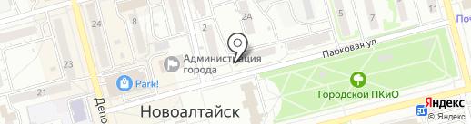 Comepay на карте Новоалтайска