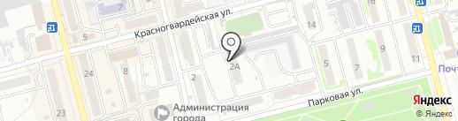 Джедай на карте Новоалтайска