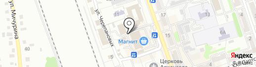 Евростиль на карте Новоалтайска