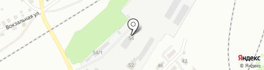 ТЭС на карте Новоалтайска