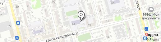 Техникум, СГУПС на карте Новоалтайска