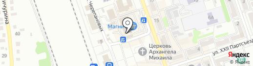 Магазин женской одежды на карте Новоалтайска