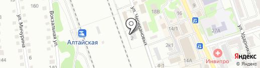 Аркадо-гранит на карте Новоалтайска