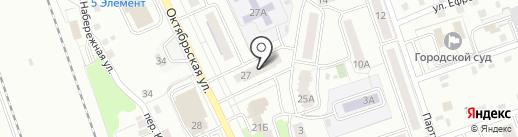 Азалия на карте Новоалтайска