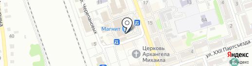 Магазин трикотажных изделий на карте Новоалтайска