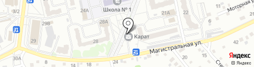 Probeerka на карте Новоалтайска