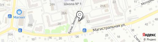Аскат на карте Новоалтайска