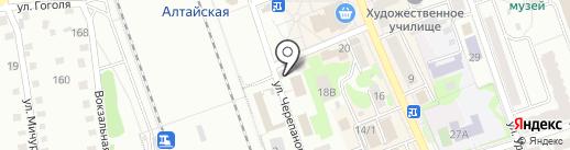 Кафе-шашлычная на карте Новоалтайска