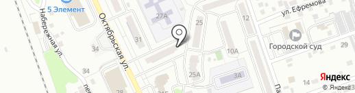 Геоком на карте Новоалтайска