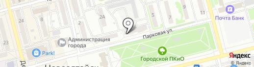 АКТО на карте Новоалтайска