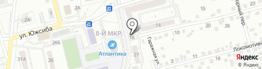 Здоровье на карте Новоалтайска