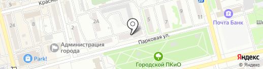 Летопись на карте Новоалтайска
