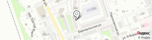 Новоалтайская городская общественная организация Всероссийского общества инвалидов на карте Новоалтайска