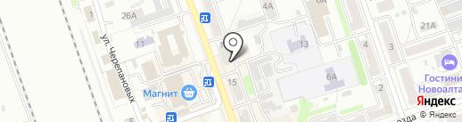 Сиб-Строй-Комфорт на карте Новоалтайска