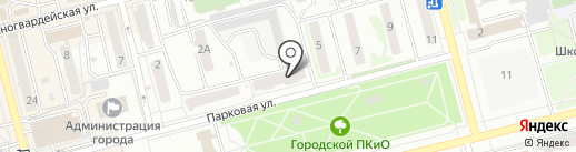 Ермак на карте Новоалтайска