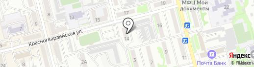КЕГА на карте Новоалтайска