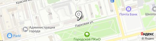 Рыбацкий причал на карте Новоалтайска