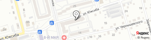 Магазин сантехники на карте Новоалтайска