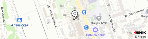 Лотус на карте Новоалтайска