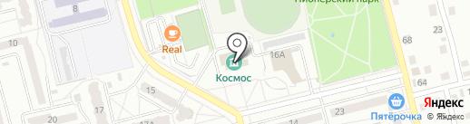 Сольвейг на карте Новоалтайска