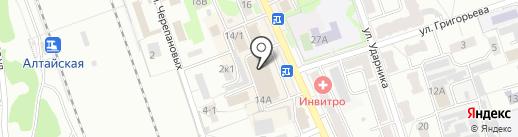 Visa Virtuon на карте Новоалтайска