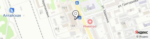 Платежный терминал, Сбербанк, ПАО на карте Новоалтайска