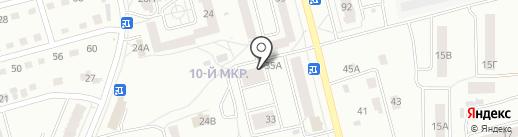 Сыр-кефир на карте Новоалтайска