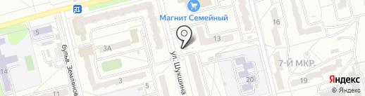 Гусар на карте Новоалтайска