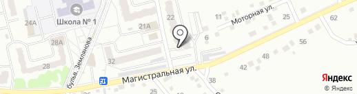 Домашний на карте Новоалтайска