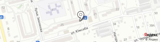 Хоккейный клуб на карте Новоалтайска