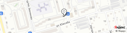 Светлана на карте Новоалтайска